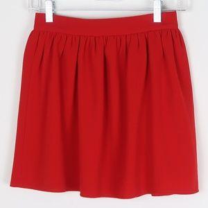 Tobi Red Skater/Circle Skirt S